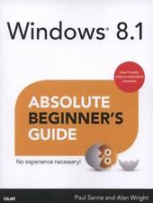 NEW - Windows 8.1 Absolute Beginner's Guide by Sanna, Paul; Wright, Alan
