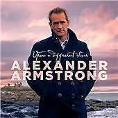 ALEXANDER ARMSTRONG, UPON A DIFFERENT SHORE, 16 TRACK CD ALBUM FROM 2016, (MINT)