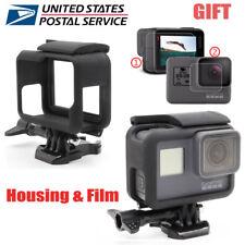 Standard Frame Housing Case Mount + Screen Lens Film Protector For GoPro HERO5 6
