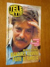 TELESETTE 1991/22=GIANCARLO GIANNINI=MIETTA=TEODOSIO LOSITO=PERRY STEPHENS=ECT