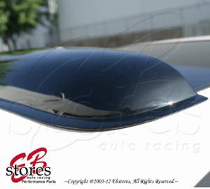 "Rain Visor 3mm Dark Gray Sun Roof 980mm (38.5"") 1986-1994 Pontiac Sunbird Coupe"