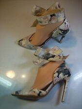 Betsey Johnson Malissa Colorful Leather Stilettos Pumps Heels Shoe Size 7 cLOSeT