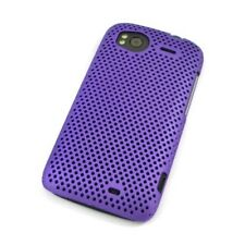 Grid case/protección-funda para HTC Sensation-lila-Back-Cover/Hard Case/Bag/bolsa