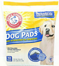 ARM & HAMMER DOG POTTY TRAINING PADS | Neutralizes Odor | Leak Protect | 10 PACK