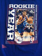 Michael Carter Williams rookie of year 2013-14 Philadelphia 76ers t shirt sz 2XL
