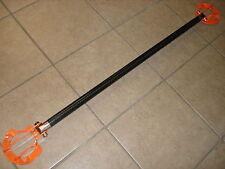 Front Strut Bar Brace Dry Carbon Fiber Wrap Alloy Bar BMW E39 5 Series 97-03