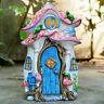 Magical Secret Mushroom Fairy Pixie Door Garden Sculpture Decorative Ornament B