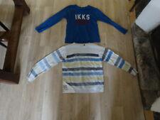 lot pull+tee shirt IKKS garçon 6/8 ans TTBE