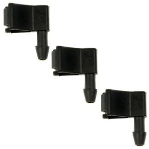 Dorman 3 Piece Wiper Nozzle kit NEW for 330 335 357 367 375 377 378 379 388 389