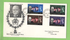 British Antarctic Territory 1966 Churchill First Day Cover, Deception Island