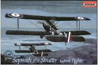 Roden 407 - Sopwith 1 1/2 Strutter Comic - 1/48 scale model airplane kit 212 mm