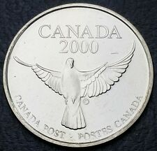 Canada 2000 The Official Millennium Keepsake Coin Medallion - Free Combined S/H