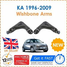 For KA 1.0 1.3 1.6 1996-2009 Front Suspension Lower Wishbone Arms + Ball Joints