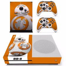 XBOX ONE SLIM Skin Sticker Decal Cover Protector STAR WARS BB-8 R2D2 EPISODE VII