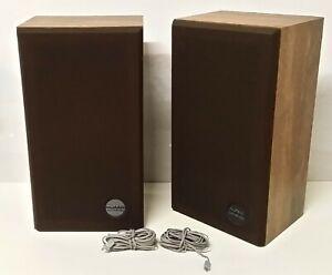Altec Lansing Lautsprecher HIFI Boxen Holzgehäuse Atlantic Made in USA