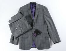 Paul Smith NEW Wool Suit Jacket 38 R Pants 30 x 36 Gray Check The Abbey NWT