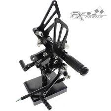Black CNC Footrests Rear Sets Rearset Pedals For Suzuki TL1000S/R 1997-2003