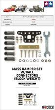 Mini 4wd MASS DAMPER SET/BALL CONNECTORS (BLOCK WEIGHT) Tamiya 15478 New Nuovo