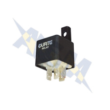 Durite 0-728-06 Relay, 6V. 30A/40A Mini Change Over Relay with Bracket