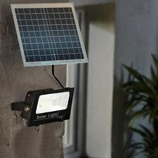 Faro Led 100W Con Pannello Solare Crepuscolare + Telecomando IP67