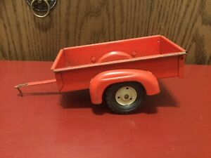 """True-Scale Farm Tractor Wagon Trailer Made In USA 9"""" Long 1/16 Good Condition."""