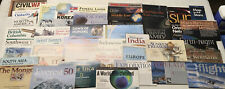 National Geographic Map Lot 44 MAPS! Space History Geography L@@K! 1990s - 2000s