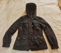 Damenjacke,H&M,Gr. 34,schwarz,Obermaterial 100% Baumwolle,Futter 100% Polyester