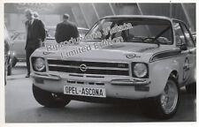 OPEL ASCONA RALLY FOTO MOTOR SHOW SALONE AUTOMOBILE TORINO 1971