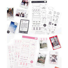 Scrapbook DIY Calendar Paper Diary Decor Sticker Planner Photo