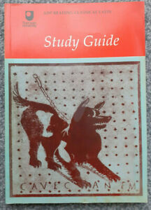 Reading Classical Latin Study Guide A297 Open University