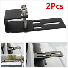 2Pcs Metal Car Roof Rack Light Bracket For LED Light Bar Work Light 4x4 4WD SUV