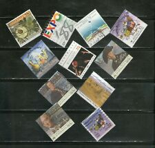 Australia : 11 Diff.Diamond-Shaped, Topicals, Large Commemoratives, Fu, # 44