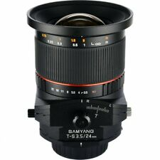 Brand New Samyang Tilt Shift 24mm f/3.5 ED AS UMC Tilt-shift for Nikon