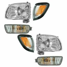 2001 2002 2003 2004 FOR TY TACOMA HEADLIGHT & CORNER W/BLACK & SIGNAL