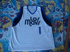 NBA Dallas Mavericks LOS MAVS cinco de mayo white home JERSEY XXL