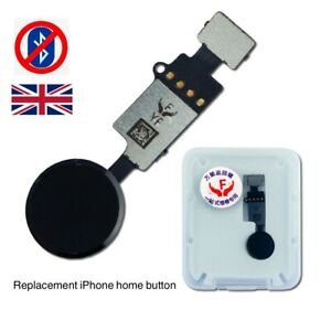 iPhone 7 / iPhone 8 Home Button Replacement FullyFunctional NO BLUETOOTH - Black
