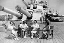 ROYAL NAVY BATTLESHIP HMS VANGUARD AND THE ROYAL TOUR TO SOUTH AFRICA IN 1947