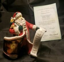 """""""Checking It Twice"""" Norman Rockwell Holiday Santas Figurine"""