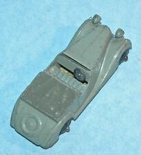 DINKY Meccano UK 1946 SUNBEAM TALBOT SPORTS #38b grey solid steering wheel