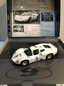 1:43 PMA Minichamps 1966 Chaparral 2D Le Mans Hill Bonnier Part# 436661409