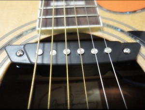 Belcat SH-80 Acoustic Guitar Pickups Humbucker Sound hole Pickup
