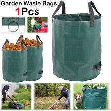 125L Heavy Duty Garden Refuse Bag Waste Grass Rubbish Waterproof Reusable Sack