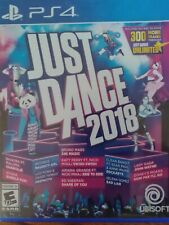 Just Dance 2018 PS4 +5 PS3 Dance/Fitness games