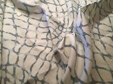 """3yd KRAVET """"Waterpolo"""" Cloud Gray 100% Linen Fabric KR-WATERPOLO-21 $567 Retail!"""