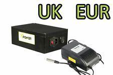 48V 20AH 18650 Li-ion Rechargeab​le Batteries 6A Charger BMS E-Bikes Motor Power