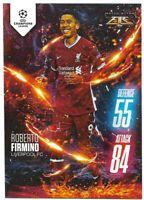 MATCH ATTAX 2020/21 ROBERTO FIRMINO FIRE CARD /250