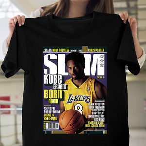Official SLAM Kobe Bryant Born Again Shirt S-5XL
