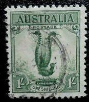 Australia :1932 Superb Lyrebird 1 Sh. Rare & Collectible Stamp.