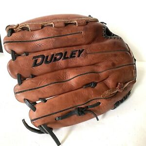 Dudley Oil Tanned Leather Softball Glove Right Hand Throw