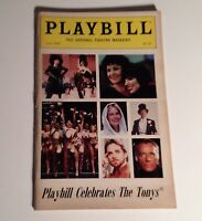 Playbill 1985 The Tony Awards Tonys NYC Broadway Theater